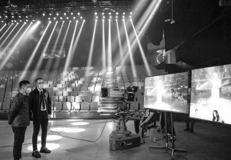 《歌手·当打之年》的第三期节目,采用的是云录制方式